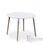Masa rotunda de bucatarie din MDF, 100 cm, EX10200