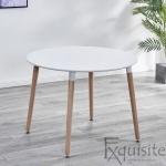 Masa rotunda de bucatarie din MDF, 100 cm, EX10201