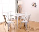 Masa cu scaune din metal4