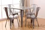 Masa cu scaune din metal1