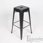 Scaun de bar din metal Exquisite1