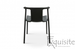 Scaun cu brate din plastic pentru terasa, Set 4 scaune 7