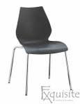Scaun de bucatarie Elisa, scaun din plastic 0