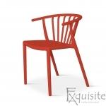 Scaun din plastic pentru terasa, stivuibil, Countryside, EX0963