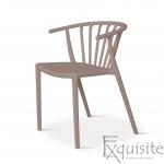 Scaun din plastic pentru terasa, stivuibil, Countryside, EX0960