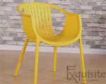 Scaun pentru terasa, modern, plastic, design Luigi, diverse culori0