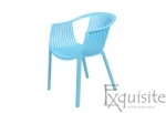 Scaun pentru terasa, modern, plastic, design Luigi, diverse culori4