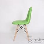 Scaun verde din piele artificiala, Set 2 bucati2