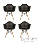 Scaune colorate de bucatarie, Set 4 scaune6