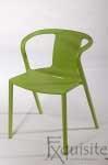 Scaun modern pentru terasa din plastic, Exquisite, diverse culori4
