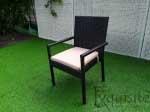 Masa cu sase scaune pentru gradina din ratan sintetic2