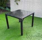 Masa cu scaune pentru terasa, ratan sintetic2